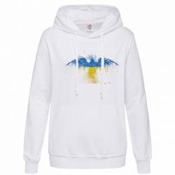 Женская толстовка Жовто-блакитний птах - FatLine