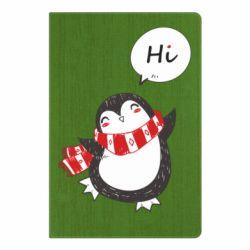 Блокнот А5 Зимовий пингвинчик