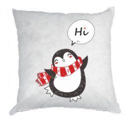 Подушка Зимовий пингвинчик