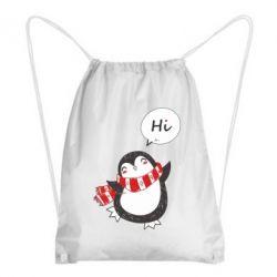 Рюкзак-мішок Зимовий пингвинчик