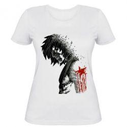 Женская футболка Зимний солдат