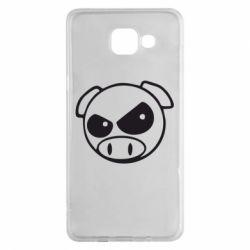 Чехол для Samsung A5 2016 Злая свинка