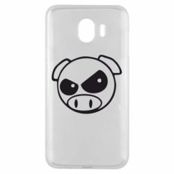 Чехол для Samsung J4 Злая свинка