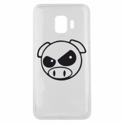 Чехол для Samsung J2 Core Злая свинка