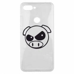 Чехол для Xiaomi Mi8 Lite Злая свинка