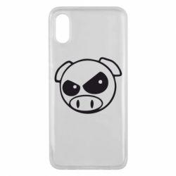 Чехол для Xiaomi Mi8 Pro Злая свинка