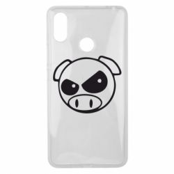 Чохол для Xiaomi Mi Max 3 Зла свинка
