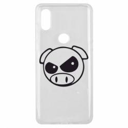 Чохол для Xiaomi Mi Mix 3 Зла свинка