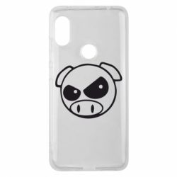 Чохол для Xiaomi Redmi Note Pro 6 Зла свинка