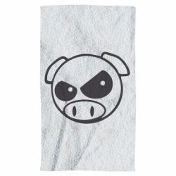 Полотенце Злая свинка