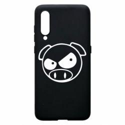 Чехол для Xiaomi Mi9 Злая свинка