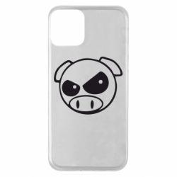 Чехол для iPhone 11 Злая свинка