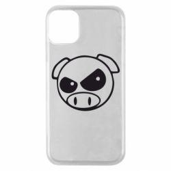 Чехол для iPhone 11 Pro Злая свинка