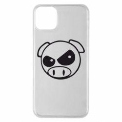 Чехол для iPhone 11 Pro Max Злая свинка
