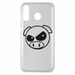 Чехол для Samsung M30 Злая свинка