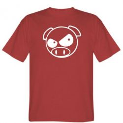 Мужская футболка Злая свинка - FatLine