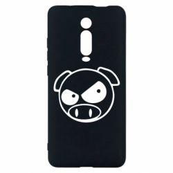 Чехол для Xiaomi Mi9T Злая свинка