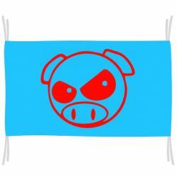 Флаг Злая свинка
