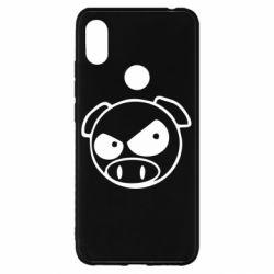 Чохол для Xiaomi Redmi S2 Зла свинка
