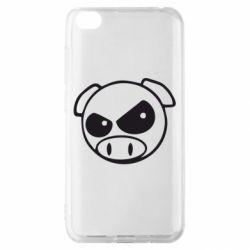 Чохол для Xiaomi Redmi Go Зла свинка
