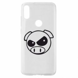 Чехол для Xiaomi Mi Play Злая свинка
