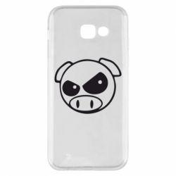 Чехол для Samsung A5 2017 Злая свинка