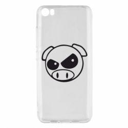 Чехол для Xiaomi Mi5/Mi5 Pro Злая свинка