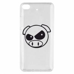 Чехол для Xiaomi Mi 5s Злая свинка