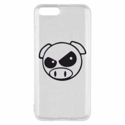 Чехол для Xiaomi Mi6 Злая свинка