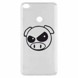 Чохол для Xiaomi Mi Max 2 Зла свинка