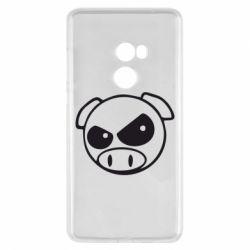 Чохол для Xiaomi Mi Mix 2 Зла свинка
