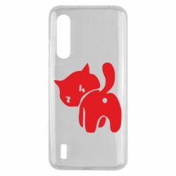 Чехол для Xiaomi Mi9 Lite злой котэ