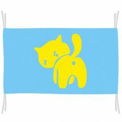 Флаг злой котэ