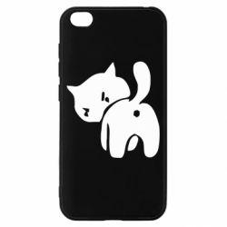 Чохол для Xiaomi Redmi Go злий коте