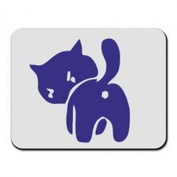 Коврик для мыши злой котэ - FatLine