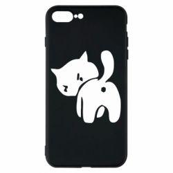 Чехол для iPhone 7 Plus злой котэ