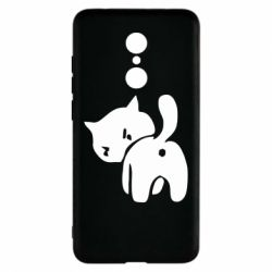 Чехол для Xiaomi Redmi 5 злой котэ - FatLine