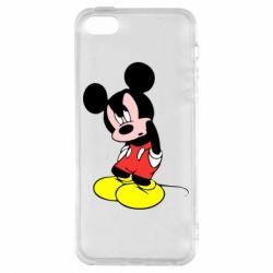 Чохол для iphone 5/5S/SE Злий Міккі Маус