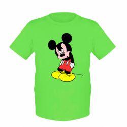 Детская футболка Злой Микки Маус - FatLine
