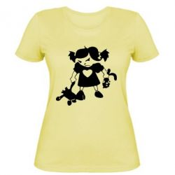 Жіноча футболка Злюка - FatLine