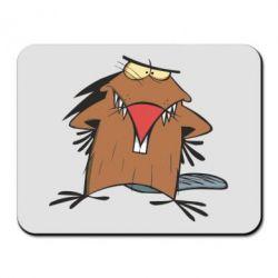 Коврик для мыши Злюки бобри - FatLine