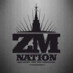 Наклейка ZM Nation GUf - FatLine