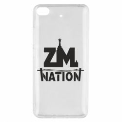 Чехол для Xiaomi Mi 5s ZM nation - FatLine