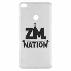 Чехол для Xiaomi Mi Max 2 ZM nation - FatLine