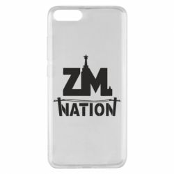 Чехол для Xiaomi Mi Note 3 ZM nation - FatLine