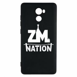 Чехол для Xiaomi Redmi 4 ZM nation - FatLine