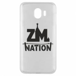 Чехол для Samsung J4 ZM nation - FatLine