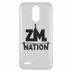 Чехол для LG K10 2017 ZM nation - FatLine