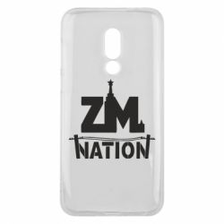 Чехол для Meizu 16 ZM nation - FatLine