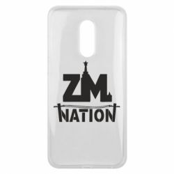 Чехол для Meizu 16 plus ZM nation - FatLine